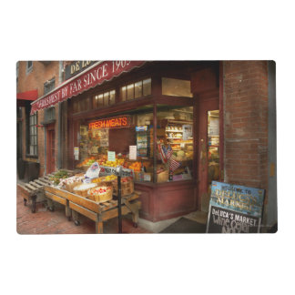 City - Boston Ma - Fresh meats and Fruit Placemat