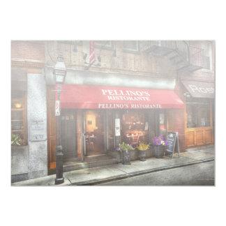 City - Boston, MA - Pellino's Ristorante Card