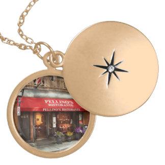 City - Boston, MA - Pellino's Ristorante Gold Plated Necklace