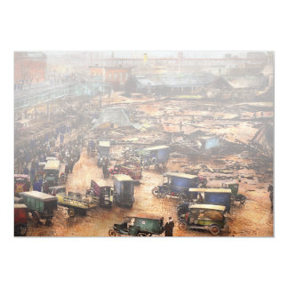 City - Boston Ma - The Great Molasses Flood 1919 Card