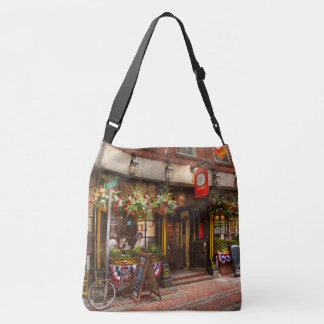 City - Boston MA - The Green Dragon Tavern Crossbody Bag