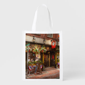 City - Boston MA - The Green Dragon Tavern Grocery Bag