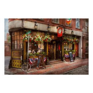 City - Boston MA - The Green Dragon Tavern Poster