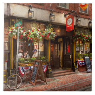 City - Boston MA - The Green Dragon Tavern Tile