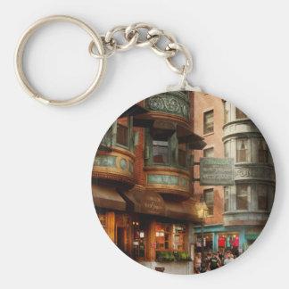City - Boston MA - The North Square Keychain