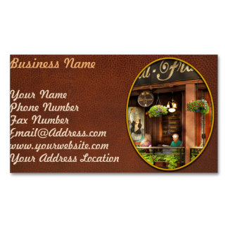City - Boston MA - Villa Francesca Magnetic Business Card