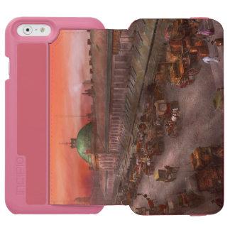City - Boston Mass - Morning at the farmers market Incipio Watson™ iPhone 6 Wallet Case