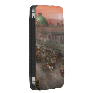 City - Boston Mass - Morning at the farmers market iPhone 5 Pouch