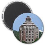 City Building, Asheville Fridge Magnets
