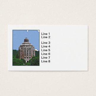 City Building, Asheville, NC Business Card