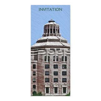 City Building, Asheville, NC Invitations