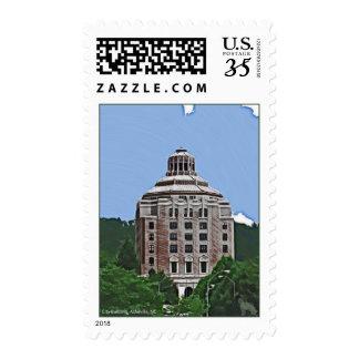 City Building, Asheville, NC Postage
