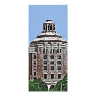 City Building Asheville NC Full Color Rack Card