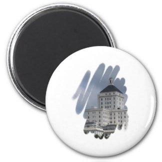 city building magnet