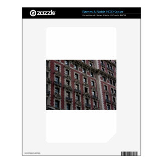 City Building Windows Decal For NOOK Color
