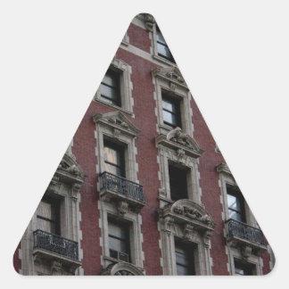 City Building Windows Triangle Sticker