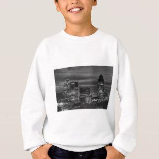 City Buildings in black and white Sweatshirt