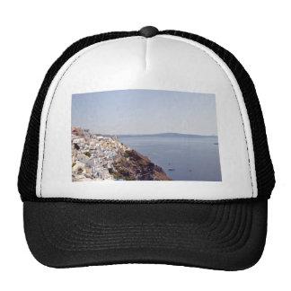 City built on water front trucker hat