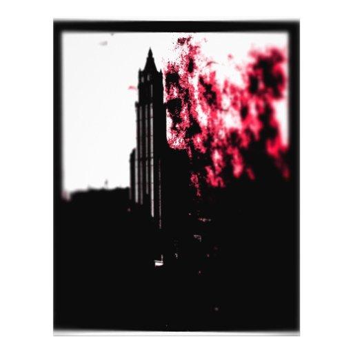 City Burning Full Color Flyer