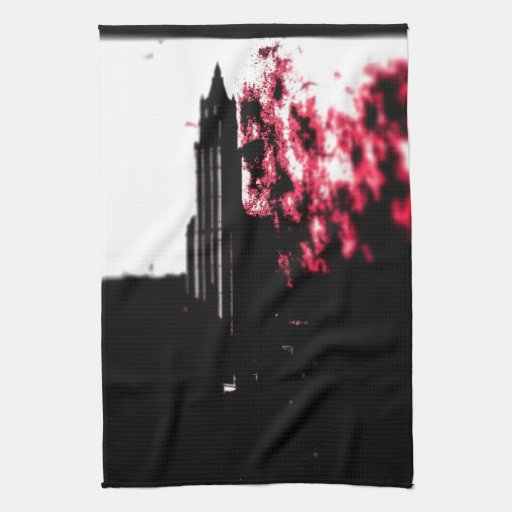 City Burning Kitchen Towels