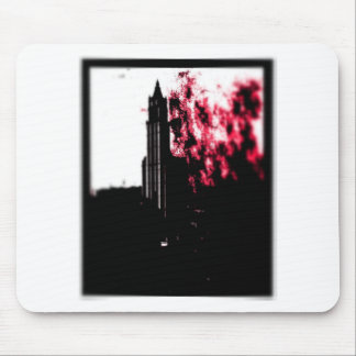 City Burning Mouse Pad