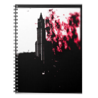 City Burning Spiral Notebook