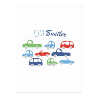 City Buster Postcard