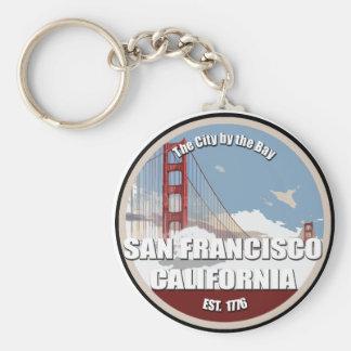 City by the bay, San Francisco California Keychain