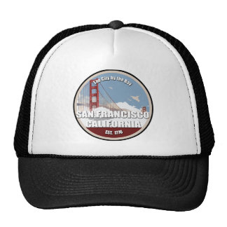 City by the bay, San Francisco California Trucker Hat