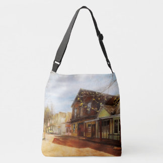City - California - The town of Downieville 1933 Crossbody Bag