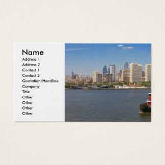 City - Camden, NJ - The city of Philadelphia Business Card