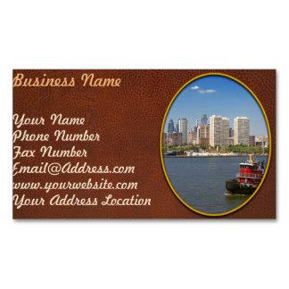 City - Camden, NJ - The city of Philadelphia Business Card Magnet