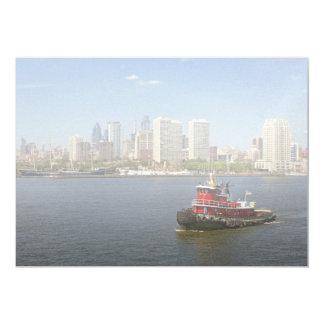 City - Camden, NJ - The city of Philadelphia Card