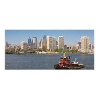 City - Camden, NJ - The city of Philadelphia Rack Card