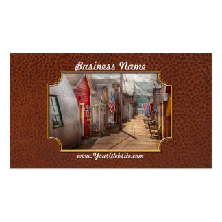 City - Canandaigua, NY - Shanty town Double-Sided Standard Business Cards (Pack Of 100)