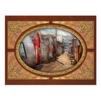 City - Canandaigua, NY - Shanty town Postcard