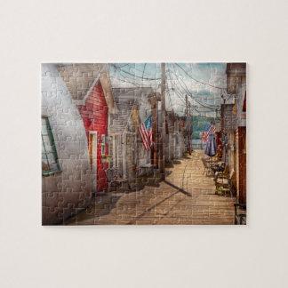 City - Canandaigua, NY - Shanty town Puzzle