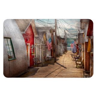 City - Canandaigua, NY - Shanty town Rectangular Photo Magnet