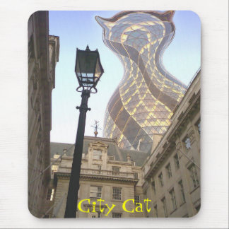 City Cat Mousepad