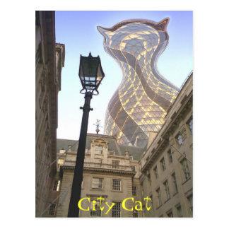 City Cat Postcard