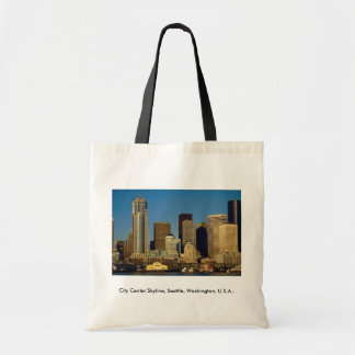 City Center Skyline, Seattle, Washington, U.S.A., Bag
