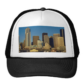 City Center Skyline, Seattle, Washington, U.S.A., Mesh Hat