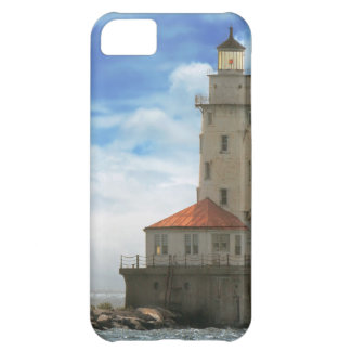 City - Chicago IL - Chicago harbor lighthouse Cover For iPhone 5C