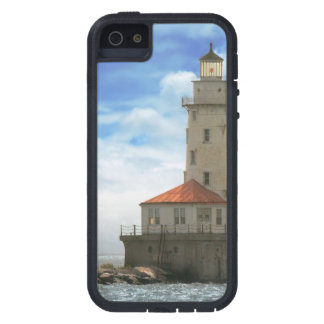 City - Chicago IL - Chicago harbor lighthouse iPhone SE/5/5s Case