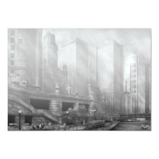 City - Chicago IL - Continuing a Legacy BW Card