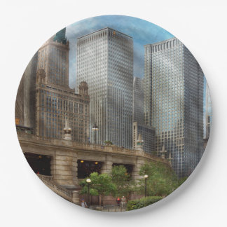 City - Chicago IL - Continuing a Legacy Paper Plate