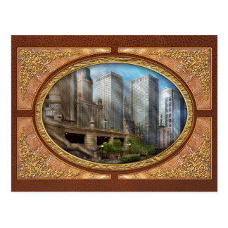 City - Chicago IL - Continuing a Legacy Postcard