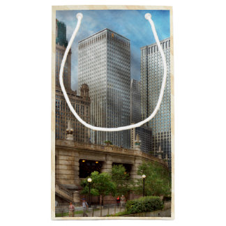 City - Chicago IL - Continuing a Legacy Small Gift Bag