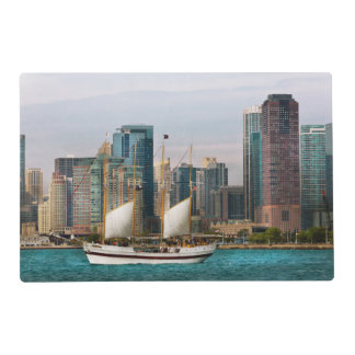 City - Chicago Il - Cruising in Chicago Placemat