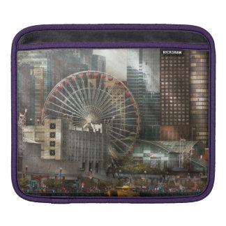 City - Chicago, IL - Pier Pressure iPad Sleeve